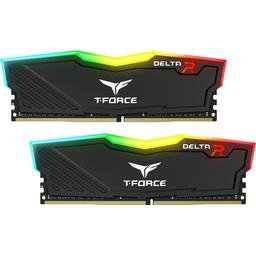 Team TF3D432G3000HC16CDC01 Delta RGB 32GB (2 x 16GB) DDR4 DIMM 3000MHz, Black - TF3D432G3000HC16CDC01
