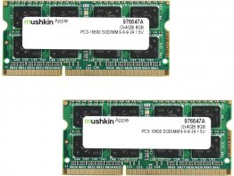 Mushkin Enhanced 8GB (2 x 4GB) DDR3 1333 (PC3 10600) Memory for Apple Model 976647A