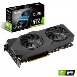 Asus GeForce RTX 2070 Super 8GB Dual -RTX2070S-O8G-EVO OC GDDR6 Turing Graphics Card
