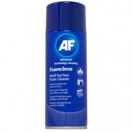 AF Foamclene Antistatic Multi Surface Cleaner 300ml Aerosol Code - FCL300