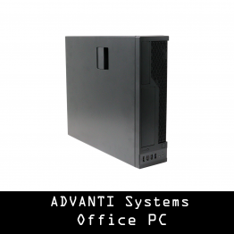 ADVANTI SYSTEMS Office PC: Athlon™ 200GE Processor with Radeon™ Vega 3 Graphics, 8 GB DDR4 RAM, 250 GB SSD, 300W PSU - No OS - 1 Year Warranty