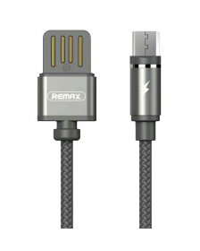 Remax RC-095m/RC-095i Gravity Data Cable Micro Lightning - Black