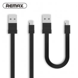Remax RC-062m Tengy Series160mm +1000mm MicroUSB Data Cable - Black