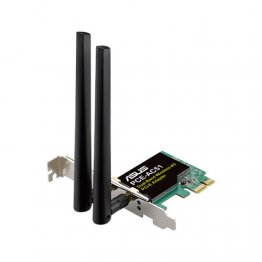 ASUS PCE-AC51/BULK Asus PCE-AC51/BULK Wireless AC750 PCIe Adapter Card for Dual-Band 2x2 802.11AC WiFi