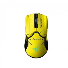 Razer Viper Ultimate Cyberpunk 2077 Edition Wireless Gaming Mouse With Charging Dock Gaming Mouse – Yellow