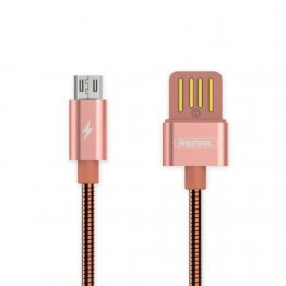 REMAX RC-080m 1m USB to Micro USB Data Sync Charging Cable - Rose Gold