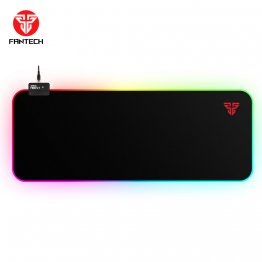 Fantech MPR800S Big Size Soft Cloth RGB Gaming Mouse Pad with 14 RGB Spectrum Mode-Black-FANTECH MPR800s- BLK