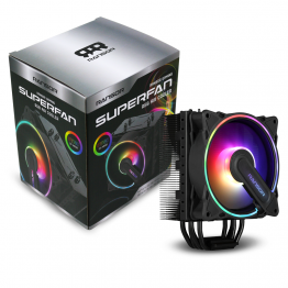 RANSOR Gaming Superfan RGB Air Cooler
