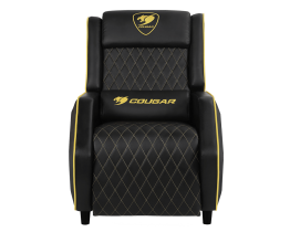 COUGAR Ranger Gaming Sofa Recliner (Black & Gold) CG-CHAIR-RANGER-ROYAL