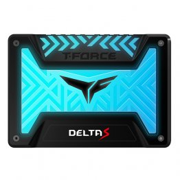 Team Group 500GB T-FORCE DELTA S RGB SSD - Black - T253TR500G3C312