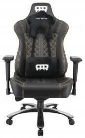 RANSOR Gaming Freedom Chair - Black/Orange - RNSR-GC-FRDM-NO