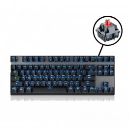 MOTOSPEED Bluetooth Mechnical Keyboard BLACK With RED Switch- MOTO GK82 B/RED (6 Month Warranty)