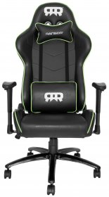 RANSOR Gaming Legend Chair - Black/Green - RNSR-GC-LNGD-NE