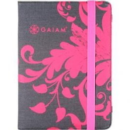 GAIAM Pink Filigree iPad Air Folio Case - OS779