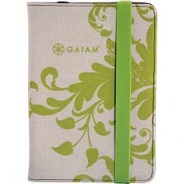 GAIAM Green Filigree iPad Mini Folio Case - OS774
