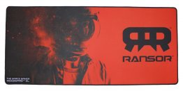 RANSOR Gaming MoozePad XL - Space Gamer Red Edition