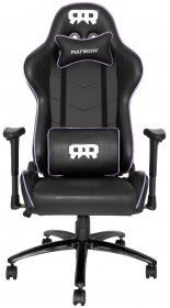 RANSOR Gaming Legend Chair - Black/Purple - RNSR-GC-LNGD-NU