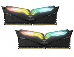 Team T-Force Night Hawk RGB 32GB (2 x 16GB) 288-Pin DDR4 SDRAM DDR4 3200 (PC4 25600) Desktop Memory Model - TF1D432G3200HC16CDC01
