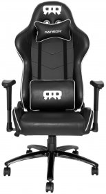RANSOR Gaming Legend Chair - Black/White - RNSR-GC-LNGD-NW
