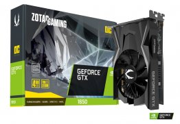ZOTAC GAMING GeForce GTX 1650 OC 4GB GDDR6 - ZOTAC ZT-T16520F-10L