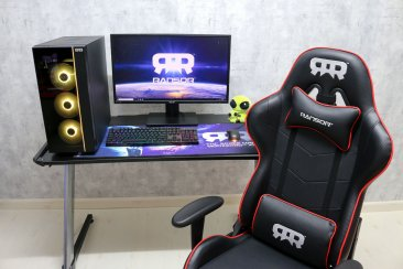 RANSOR Gaming Zone Desk - Aluminium RGB Gaming Desk - RNSR-GD-ZONE-01