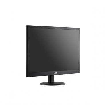 AOC E970SWHEN18.5-Inch LED-Lit Monitor, 1366 x768 Resolution, 5ms, 20M:1 DCR, VGA, VESA