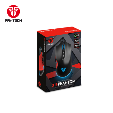 FANTECH X15 Phantom Macro RGB Gaming Mouse