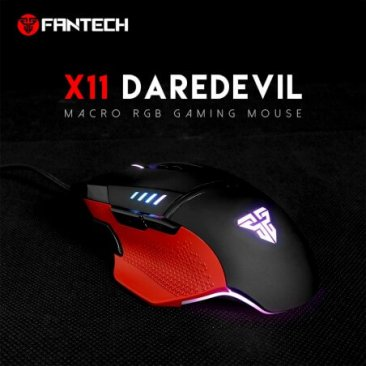 Fantech X11 Daredevil Macro RGB (PROGRAMABLE) Chorma Gaming Mouse