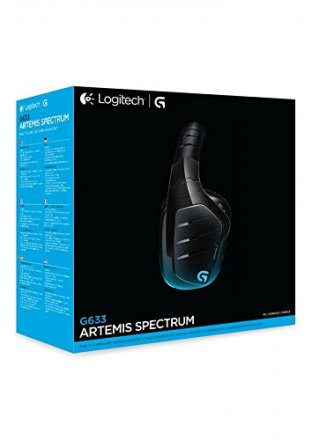 ... Logitech G633 Artemis Spectrum RGB 7.1 Surround Sound Gaming Headset -  981-000605 ... 2eb476c62331