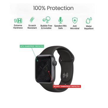 Shark Proof Smart Watch, Tracker Liquid Glass screen Protector - 2.860 w/o vat 3bd w/ vat