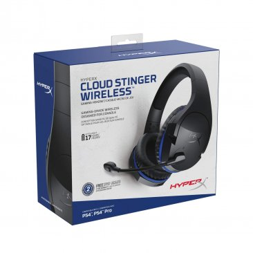 HyperX Cloud Stinger Wireless Gaming Headset - Black - HX-HSCSW-BK