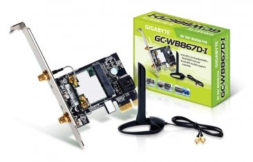 GIGABYTE GC-WB867D-I Exclusive Bluetooth 4.0/WiFi Expansion Card