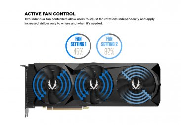 Zotac NVIDIA GeForce RTX 2070 8GB AMP! Extreme Core Turing Graphics Card -  ZT-T20700C-10P