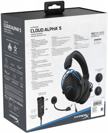 HyperX HX-HSCAS-BL/WW Cloud Alpha S - Blue Gaming Headset