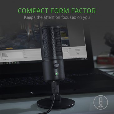 Razer Seiren X Professional Grade High Definition Studio Sound USB Digital Condenser Microphone - RZ19-02290100-R3M1