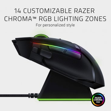 Razer  Basilisk Ultimate Wireless Technology Gaming Mouse - With Charging Dock