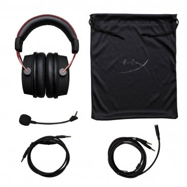 HyperX Cloud Alpha Pro Gaming Headset - (HX-HSCA-RD/AM)