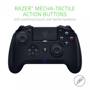 Razer Wireless Raiju Tournament Edition PS4 Gaming Controller (2019) - RZ06-02610400-R3G1 Black