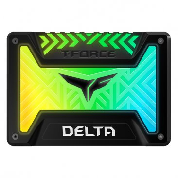 "Team Group T-FORCE DELTA 2.5"" 250GB SATA III Internal RGB Solid State Drive (SSD) - T253TR250G3C313"