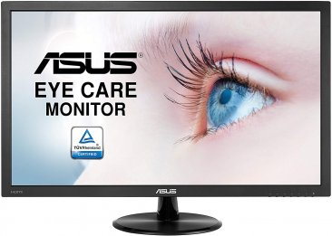 ASUS VP247HAE Eye Care Monitor 23.6 Inch, Full HD, Flicker Free, Blue Light Filter, Anti Glare