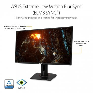"ASUS TUF Gaming VG27AQ 27"" G-SYNC Gaming Monitor 155Hz 1440p 1ms IPS Eye Care DP HDM"