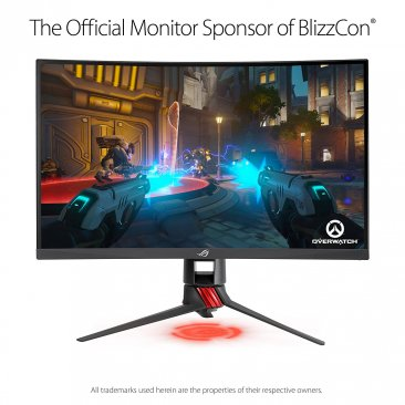 "ASUS ROG Strix XG27VQ 27"" Curved Full HD1080p 144Hz DP HDMI DVI Eye Care Gaming Monitor"