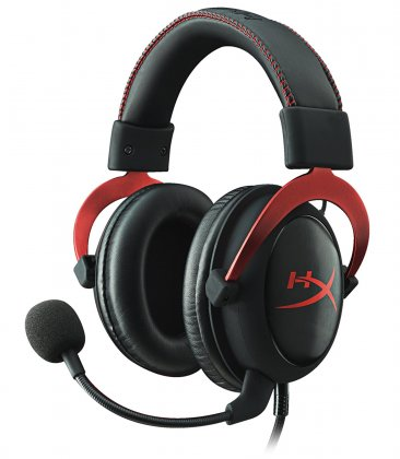 HyperX Cloud II Gaming Headset for PC & PS4 - Red - KHX-HSCP-RD