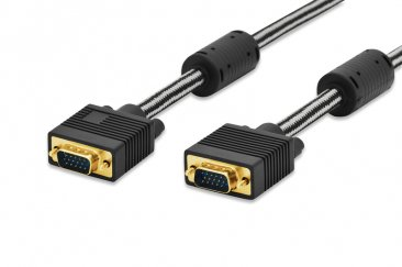 DIGITUS VGA Monitor connection cable, 1.8m - 84530