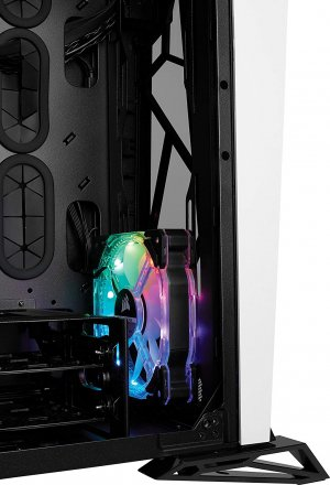 Corsair Carbide Series SPEC-OMEGA RGB Tempered Glass Mid-Tower ATX Gaming Case - CC-9011141-WW