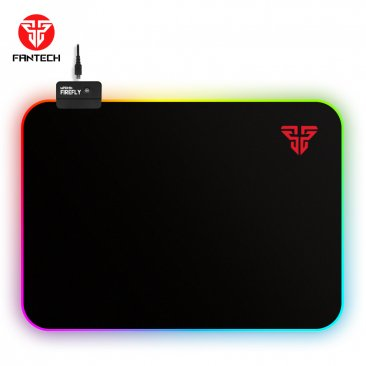 Fantech MPR351S RGB Mousepad with Smooth Surfaces and Lighting Control