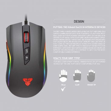 Fantech X4S 6D Key 4800 DPI RGB Game Mouse