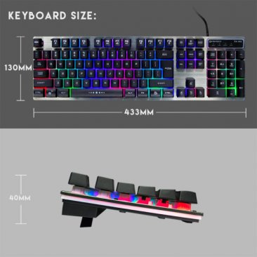 Fantech KX-302 Major Gaming Keyboard and Mouse Combo
