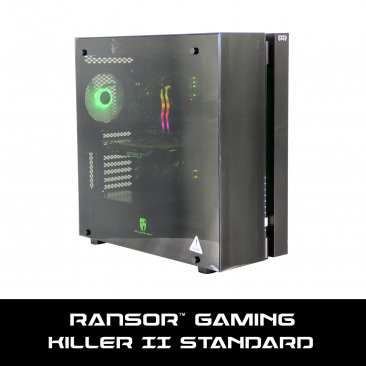 RANSOR Gaming Killer II Standard - Super Edition: Intel Core i7-10700K, NVIDIA GeForce RTX 2080 Super 8GB, 32 GB RGB RAM, 500 GB SSD, 4 TB HDD, 700W PSU, Windows 10 PRO - 1 Year Warranty - RNSR-PC-KII-02S R2