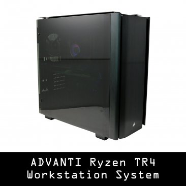 ADVANTI Systems Workstation 13970 - AMD Threadripper 2950X - 16 Cores and 32 Processing Threads, Nvidia Quadro RTX 5000 16GB GDDR6, 64 GB DDR4, 1TB SSD NVME, 6 TB Hard Drive, 850W PSU, Windows 10 Pro - 1 Year Warranty